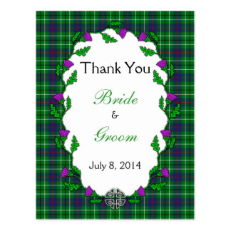 Duncan Celtic Wedding Thank You Postcard