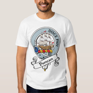 Duncan Clan Badge T Shirt