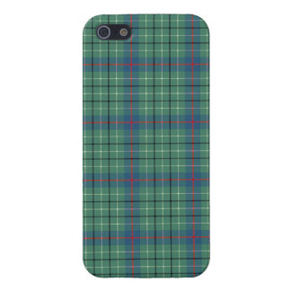 Duncan Clan Light Green and Blue Ancient Tartan iPhone SE/5/5s Case