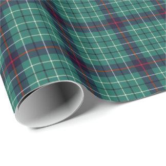 Duncan Clan Modern Tartan Wrapping Paper