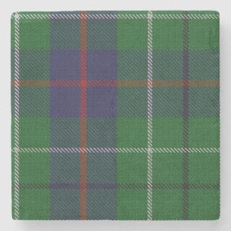 Duncan Clan Tartan Plaid Stone Coaster