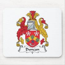 Duncan Family Crest Mousepad