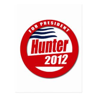 Duncan Hunter 2012 Post Card