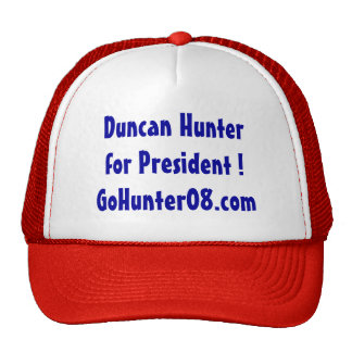 Duncan Hunter hat