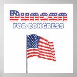 Duncan para la bandera americana patriótica del co impresiones
