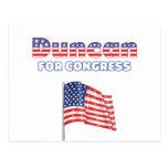 Duncan para la bandera americana patriótica del co tarjetas postales