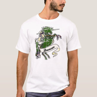Duncan Tartan Unicorn T-Shirt