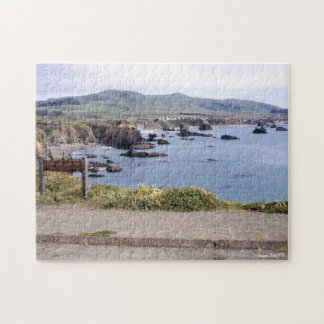 Duncan's Point California Landscape Scenery Jigsaw Puzzle