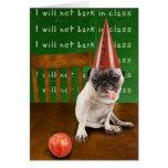 dunce greeting card