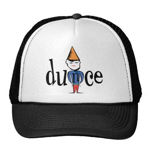 Dunce Trucker Hats