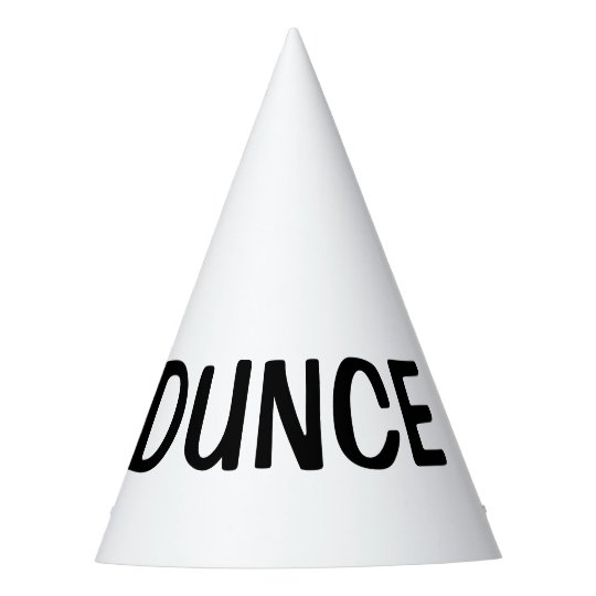 Dunce hat diy custom party hats for Dunce hat template