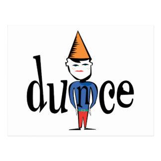 Dunce Postcard