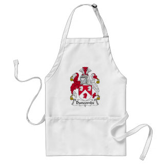 Duncombe Family Crest Adult Apron
