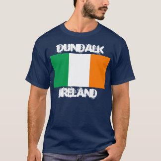 Dundalk, Ireland with Irish flag T-Shirt