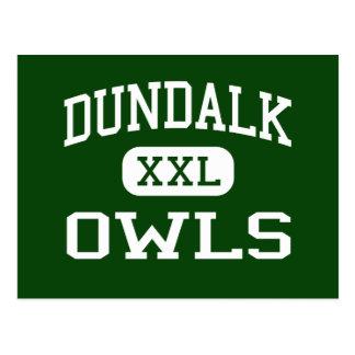 Dundalk - Owls - High School - Baltimore Maryland Postcard