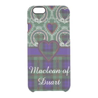 Dundas clan Plaid Scottish tartan Clear iPhone 6/6S Case