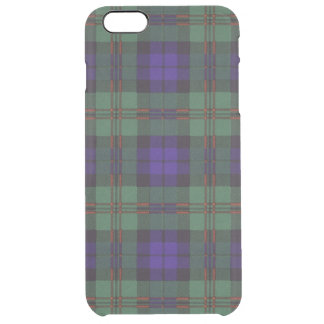 Dundas clan Plaid Scottish tartan Clear iPhone 6 Plus Case