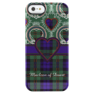 Dundas clan Plaid Scottish tartan Clear iPhone SE/5/5s Case