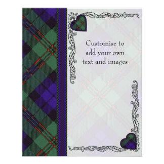 Dundas clan Plaid Scottish tartan Flyer
