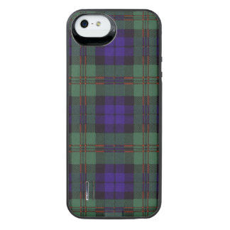 Dundas clan Plaid Scottish tartan iPhone SE/5/5s Battery Case