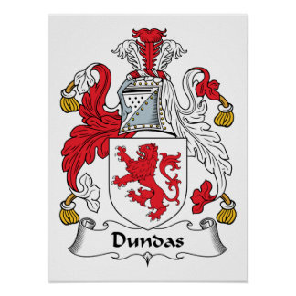 Dundas Family Crest Posters