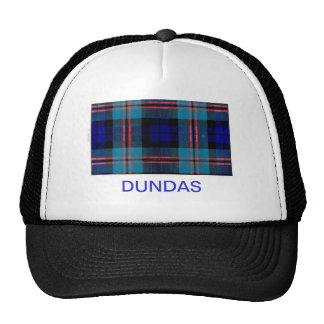 DUNDAS FAMILY TARTAN TRUCKER HAT