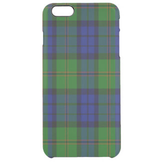 Dundas Scottish Tartan Clear iPhone 6 Plus Case