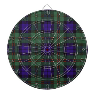 Dundas Scottish Tartan Dartboard
