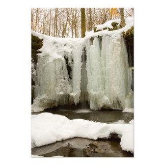 Dundee cae en el invierno, Ohio Fotos