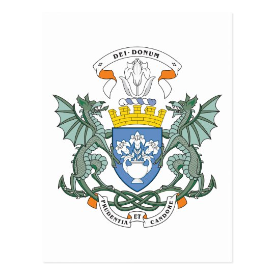 Dundee Coat Of Arms Postcard