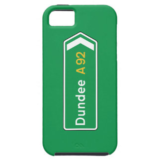 Dundee, UK Road Sign iPhone 5 Cases