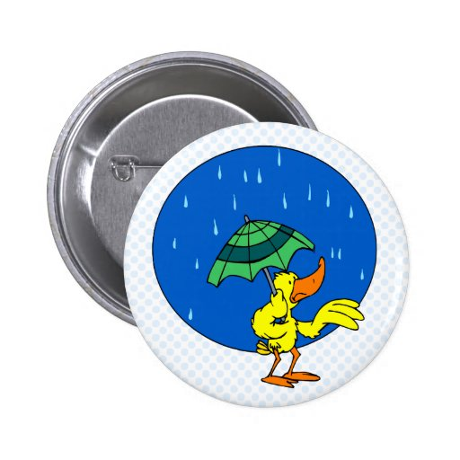 Dundle Duck Pinback Buttons