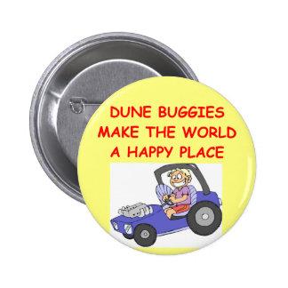 dune buggies pinback button