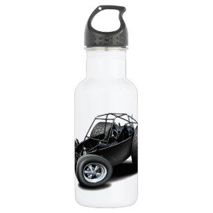 Dune Buggy Black Water Bottle