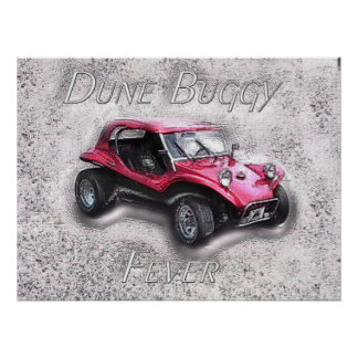 Dune Buggy Fever Poster