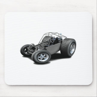 Dune Buggy grey Mouse Pad