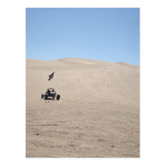 Dune Buggy in Sand Postcard