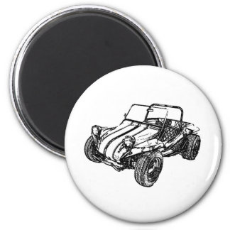 Dune Buggy Refrigerator Magnets