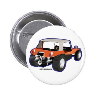 Dune Buggy Manx Pinback Button