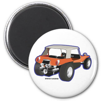 Dune Buggy Manx Refrigerator Magnets