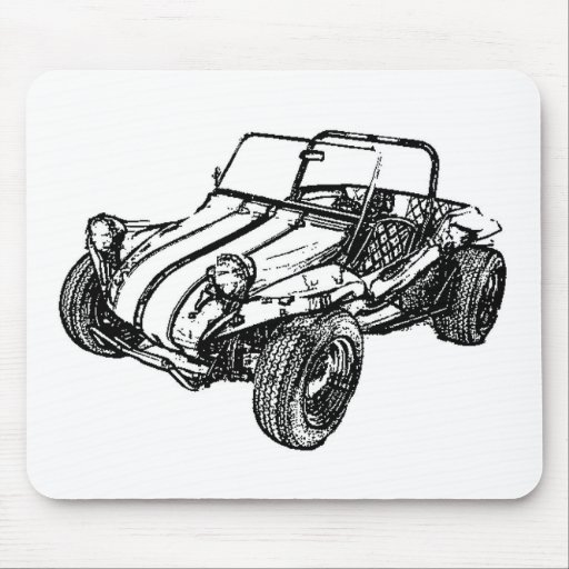 Dune Buggy Mouse Pad