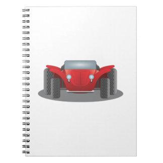 Dune Buggy Spiral Notebook