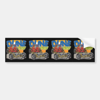 Dune Buggy Play in the Sand Bumper Sticker