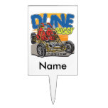 Dune Buggy Play in the Sand Cake Picks