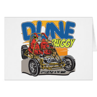 Dune Buggy Play in the Sand Card