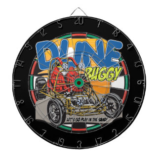 Dune Buggy Play in the Sand Dartboard