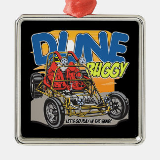 Dune Buggy Play in the Sand Metal Ornament
