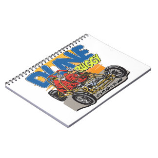 Dune Buggy Play in the Sand Notebook