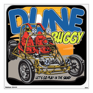 Dune Buggy Play in the Sand Wall Decal