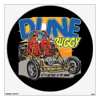 Dune Buggy Play in the Sand Wall Sticker